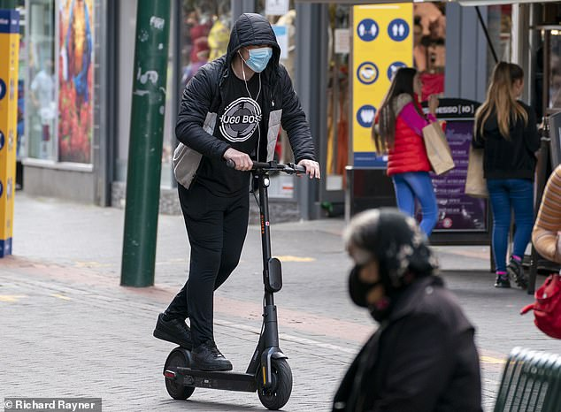 Terror of the e-scooters: Owners post guides showing how to override software to hit 40mph