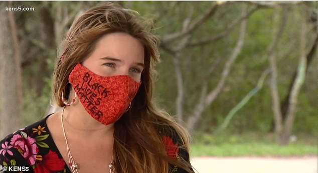 Texas teacher is fired for refusing to stop wearing a Black Lives Matter face mask