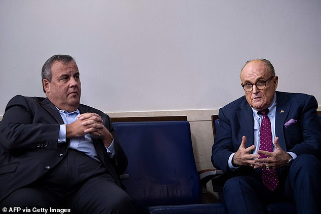 Trump reveals Rudy Giuliani Chris Christie have been playing Joe Biden in White House debate prep