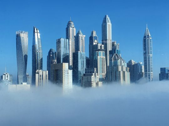 UAE weather: Foggy with a chance of rainfall