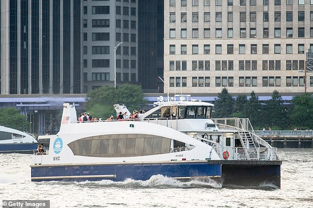The couple are reportedly planning to sue NYC Ferry for violating their constitutional rights by kicking them off the boat because they didn