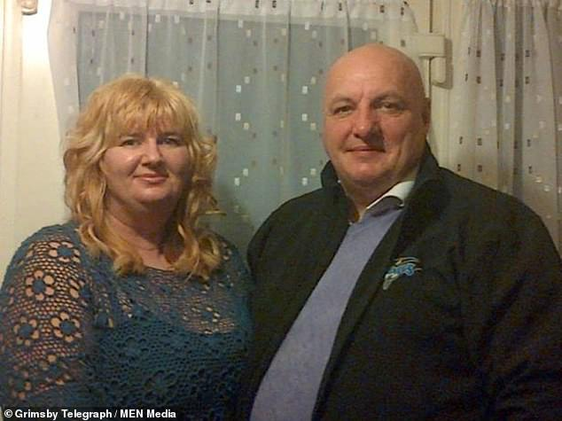 Joanne Singleton (left0, a mum of three, has appeared in court accused of attempting to murder her husband. Kevin Singleton (right) was found with head and stab wounds at the family home on Derrythorpe Road,Althorpe on Monday afternoon
