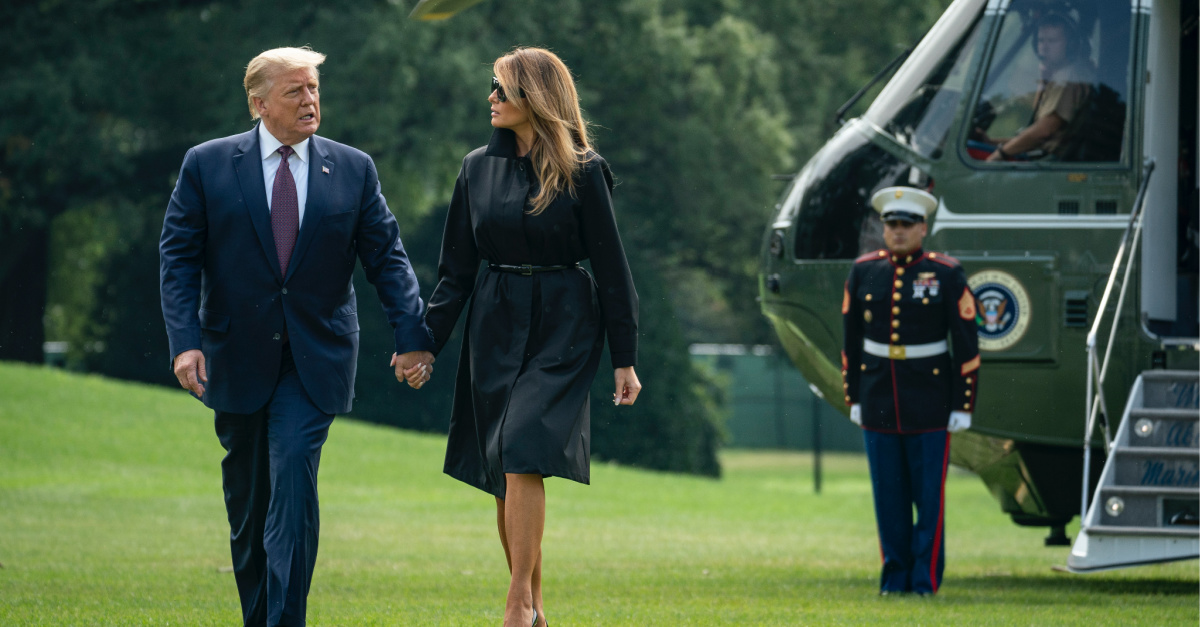 'Pray for the President': Trump and First Lady Test Positive for COVID-19