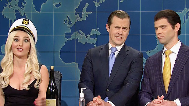 'Tiffany Trump' Admits Daddy Donald Has Always 'Social Distanced' From Her On 'SNL'