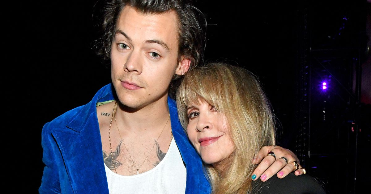 Music legend Stevie Nicks makes lustful confession about Harry Styles