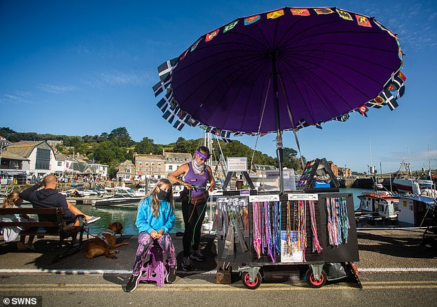 Some traders said they believe the battle with the locals is founded on a fear that they are not insured or registered with HMRC