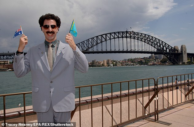 Sequel: There were first hints that a sequel was happening in August, when Cohen was spotted in his iconic Borat suit driving an old pickup truck