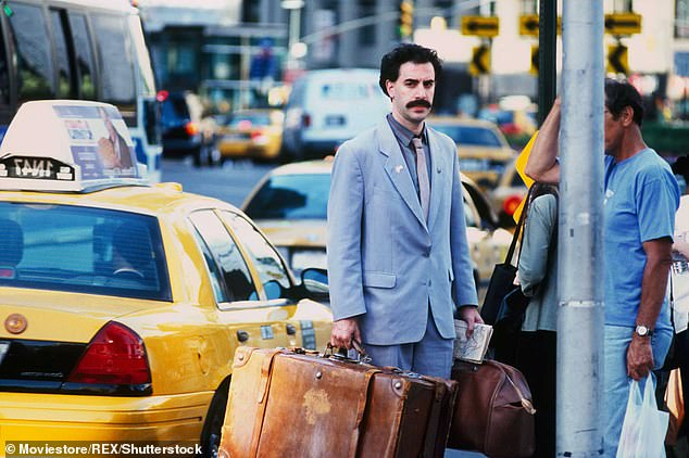 Many writers: The now-deleted Writer's Guild of America post also revealed that several different writers worked on the Borat sequel script