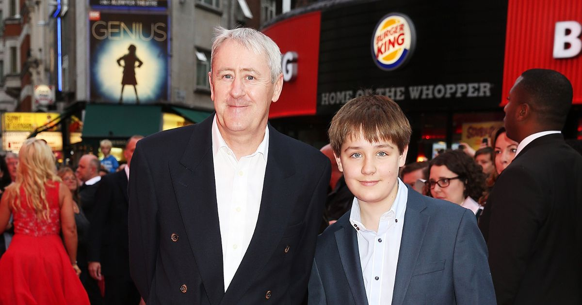 Nicholas Lyndhurst breaks silence over painful loss of son Archie
