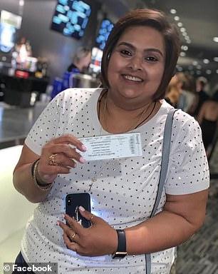 Pictured:Samanta Arjune of Las Vegas, Nevada