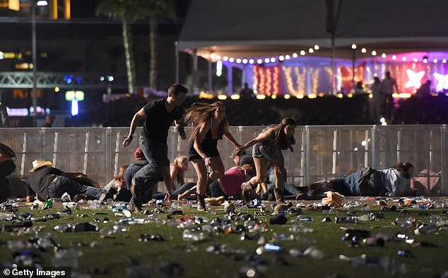 Around 22,000 people attended the Route 91 Harvest Festival in 2017, where a gunman killed 60 people at injured more than 850 others