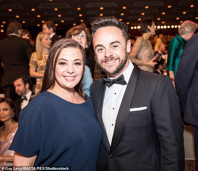 Theft: A Valentine's Card from Ant to Lisa, as well as a document of the seating arrangements at their wedding, and one of Ant's personalised dressing gowns is said to have been taken