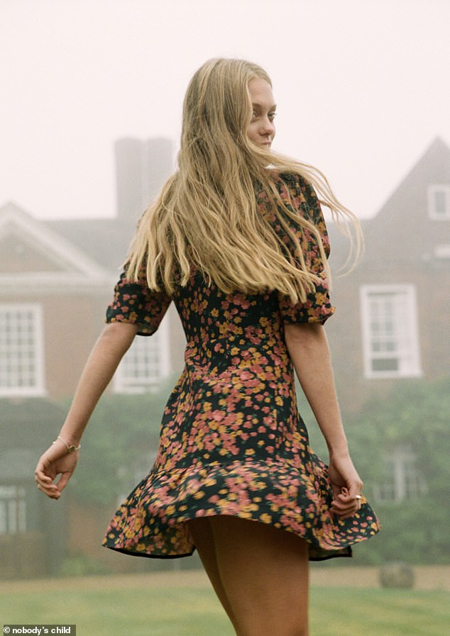 The range, which was launched yesterday online, is inspired by The Secret Garden, and brimming with signature day dresses in whimsical floral patterns