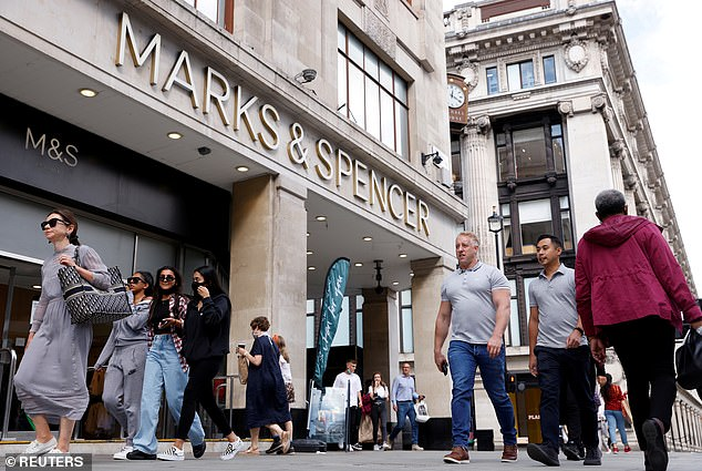 The launch of the new collection comes weeks after M&S revealed it would be cutting 7,000 jobs by the end of the year