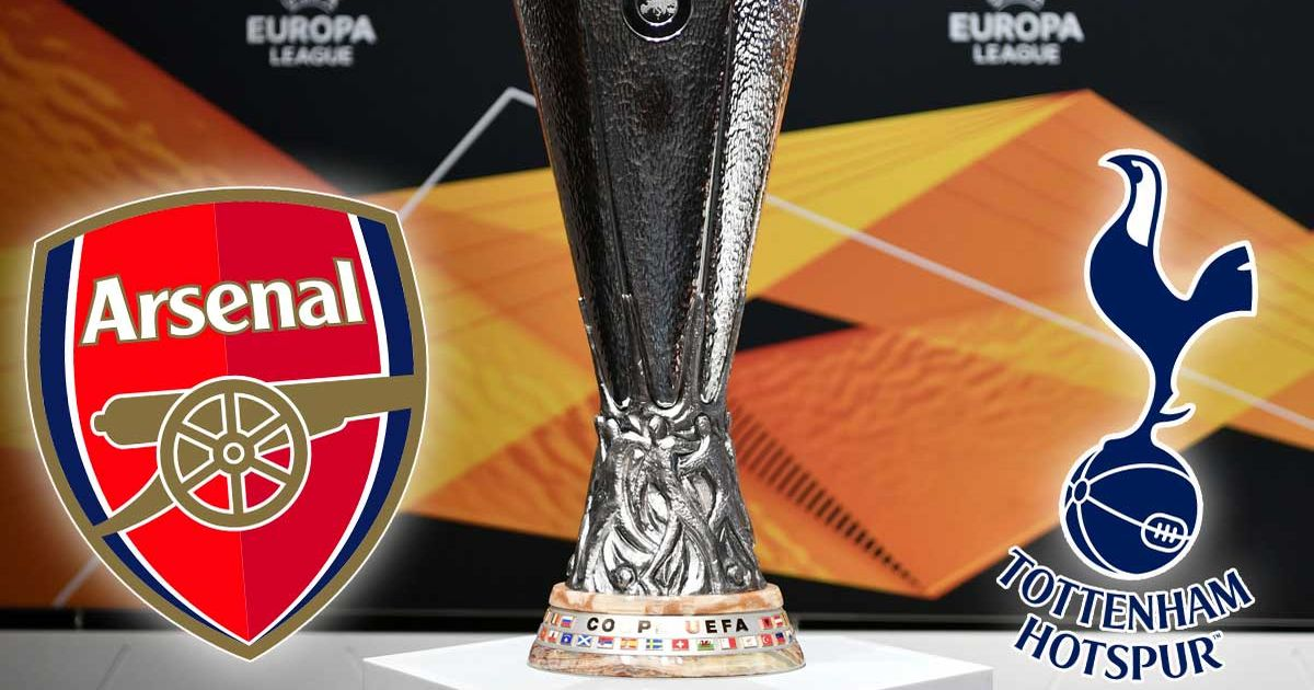 Europa League group draw in full as Arsenal and Tottenham discover fate