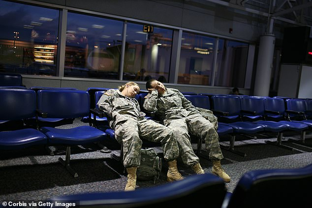 'When regular nighttime sleep is not possible due to mission requirements, Soldiers can use short, infrequent naps to restore wakefulness and promote performance,' the manual reads