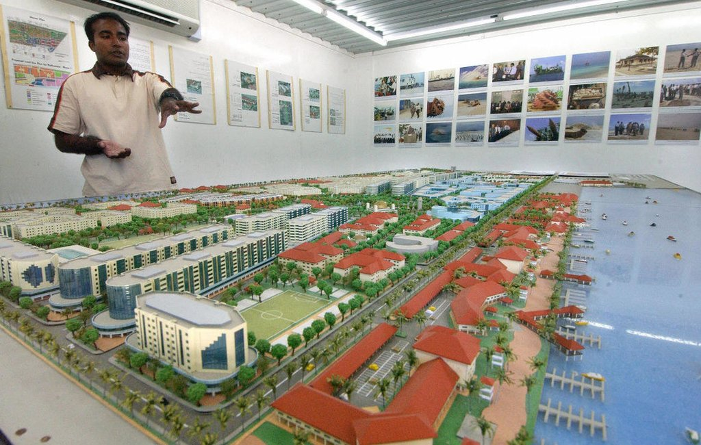 A view of the Hulhumalé project