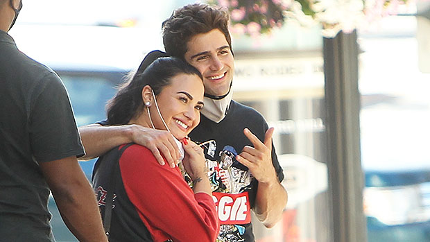 Why Demi Lovato's Family Is 'Breathing A Sigh Of Relief' After She & Fiance Max Ehrich Split