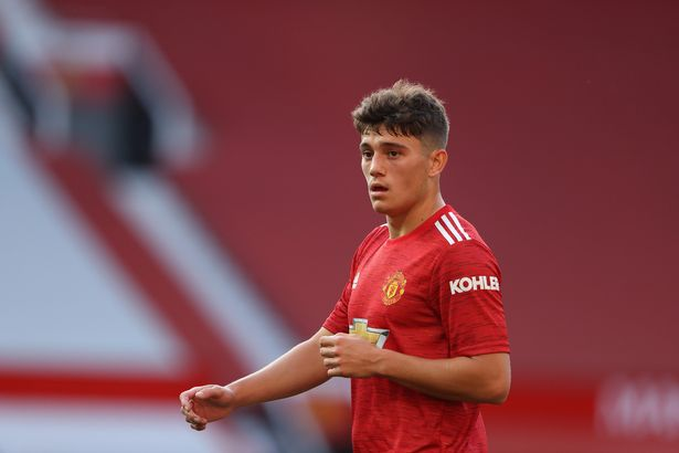 Dan James has struggled to find his form at Old Trafford