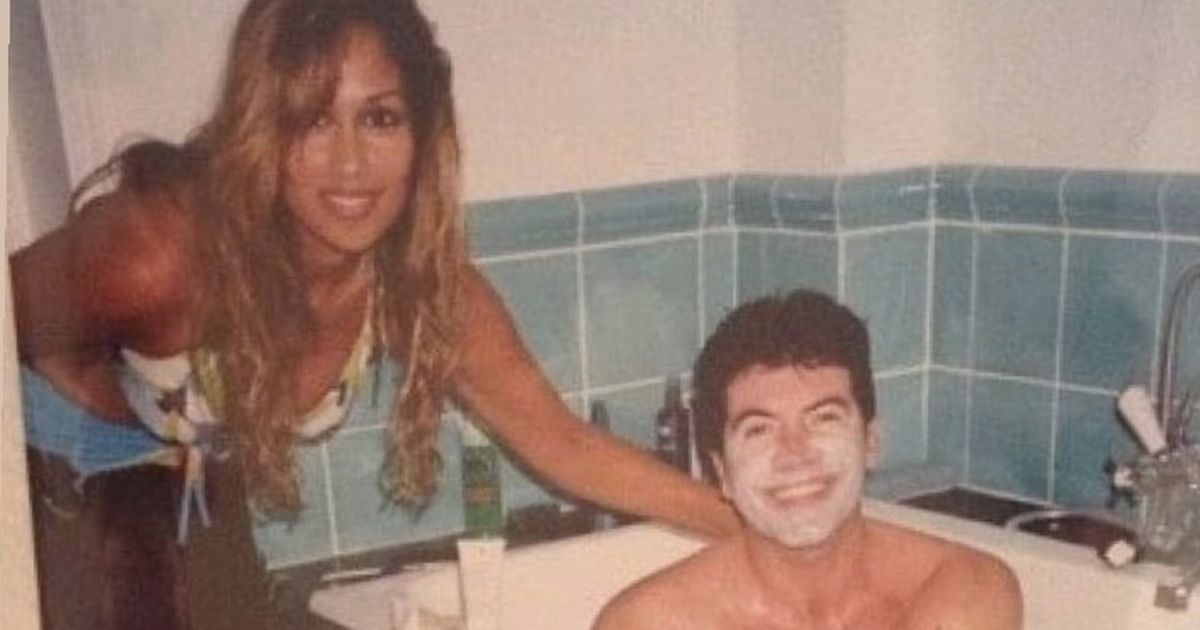 Simon Cowell beams in the bath in epic throwback from 'the good old days'