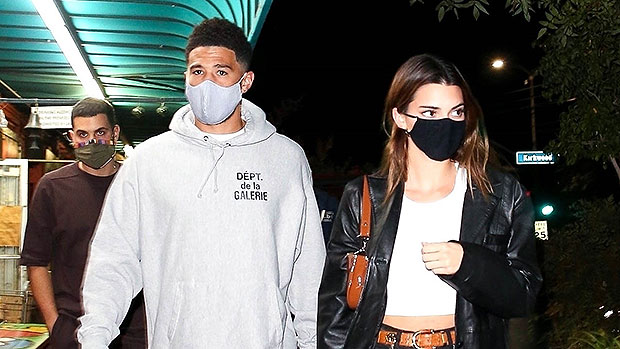 Kendall Jenner & BF Devin Booker Hold Hands On Romantic Dinner Date In L.A. — See Pics