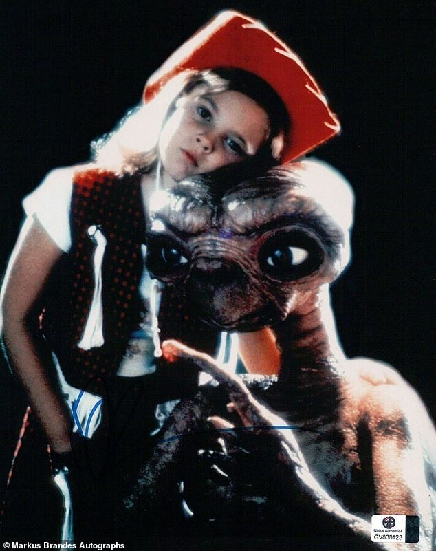 Legendary: Drew launched to fame at the age of seven in 1982's E.T. the Extra-Terrestrial