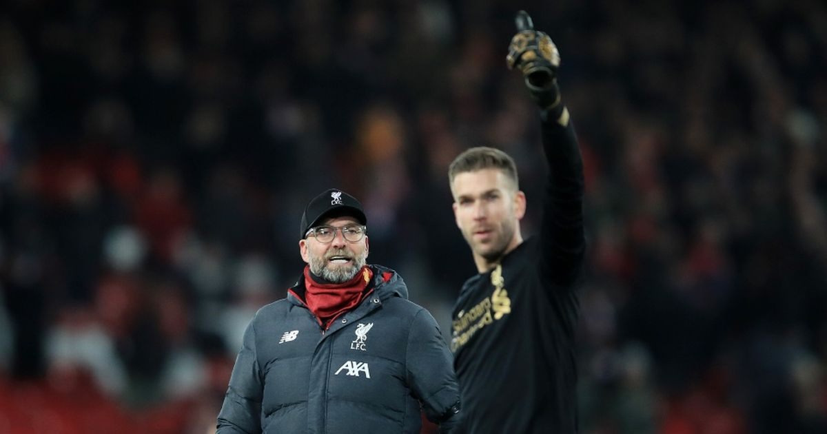 Jurgen Klopp's comments on Adrian as Liverpool are linked with Paulo Gazzaniga