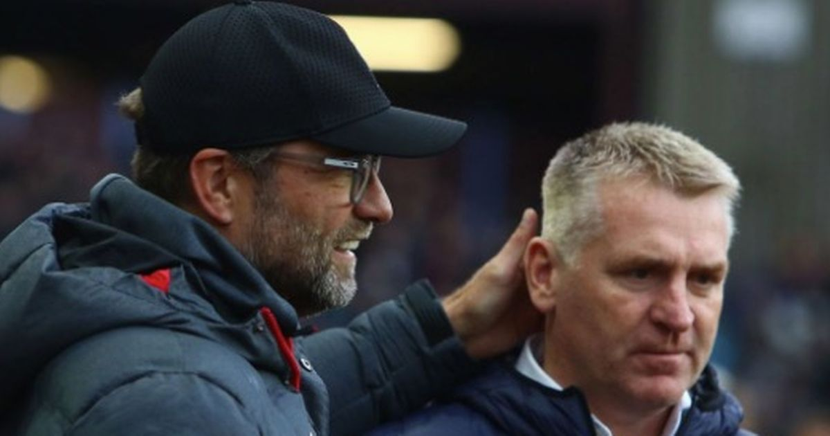 Klopp's telling word to Villa boss Smith after Liverpool debacle at Aston Villa