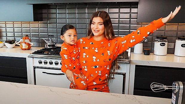 Stormi, 2, Squeals With Delight As She Bakes Halloween Cookies With Mom Kylie Jenner In Adorable Video