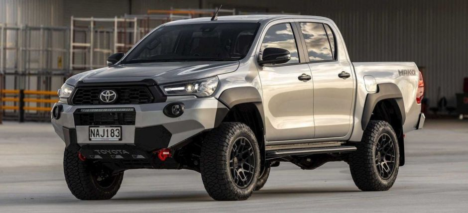 Toyota Hilux Mako, the brand's most extreme pick-up, will not arrive in Europe   The NY Journal
