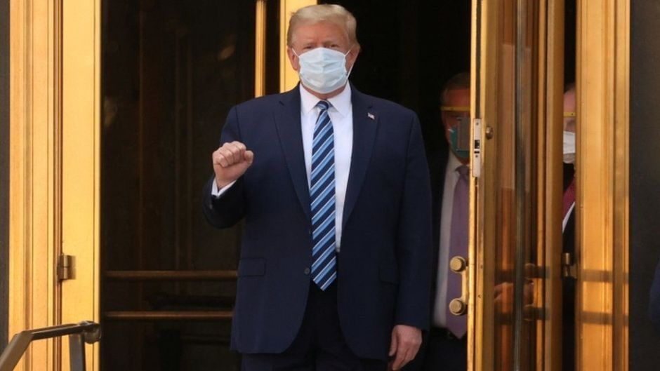 What does Trump's medical discharge say about the enormous confusion in the country | The NY Journal