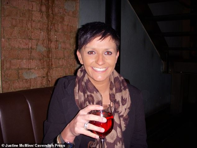 McMinn (pictured) appeared unrepresented in court and said she was 'appalled with myself'