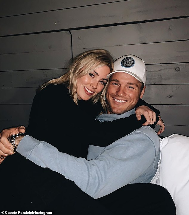Fairytale is over: Last month Cassie was granted a restraining order against him. The former couple started their romance on Underwood's 23rd season of The Bachelor, which aired in early 2019