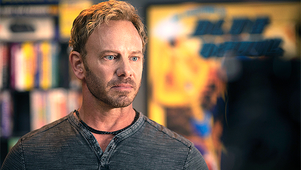 'Swamp Thing's Ian Ziering Reveals He 'Hit The Gym Every Day' To Bulk Up To Play The Blue Devil