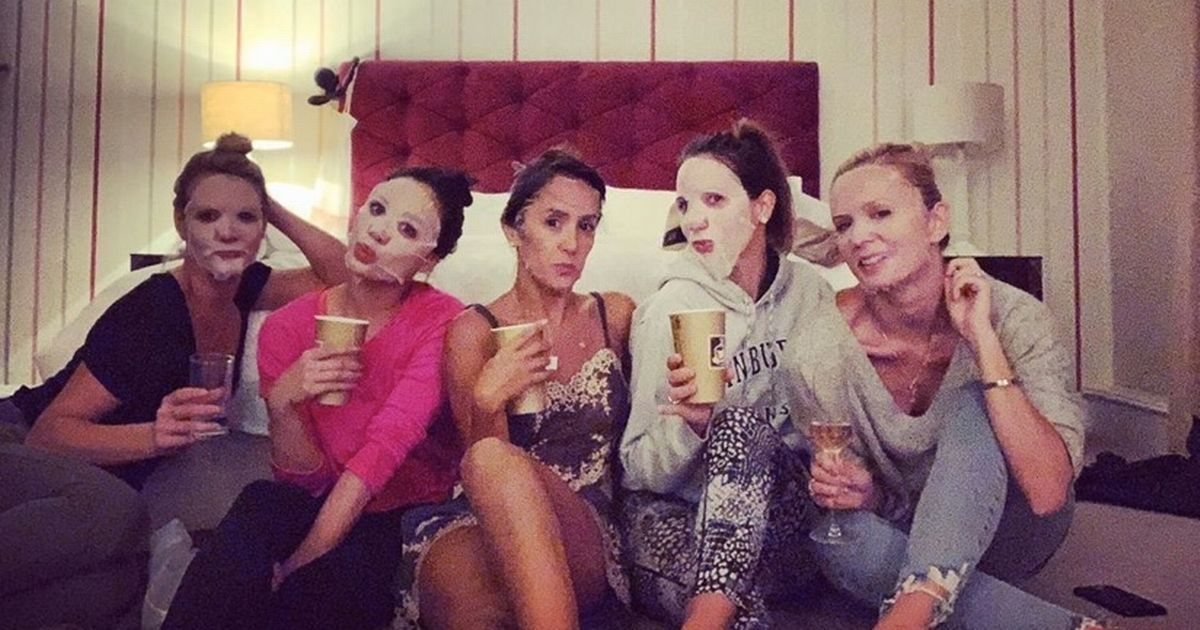Strictly stars enjoy pamper night as they quarantine together ahead of launch