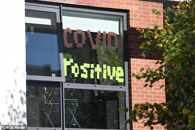 University students are throwing 'Covid positive' parties as they try to salvage their social lives