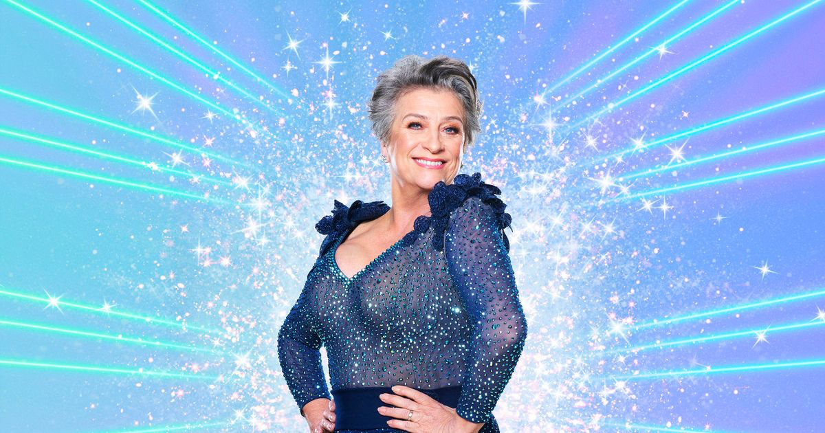 Caroline Quentin fears her boobs falling out of skimpy Strictly costumes