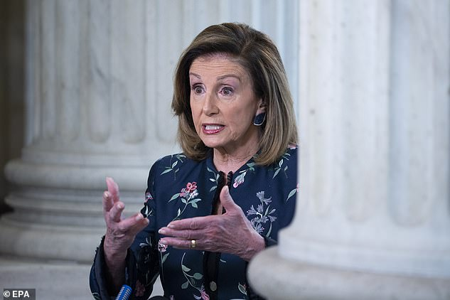 Speaker Nancy Pelosi called the White House 'one of the most dangerous places in the country'
