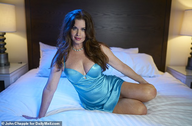 Stevens says being a Playmate was a dream come true and a blast a minute. She recalls: 'It was like becoming a celebrity overnight. And I remember one of the first times I went anywhere after I was published, I went to meet some friends for brunch and I got a standing ovation when I walked in the door'