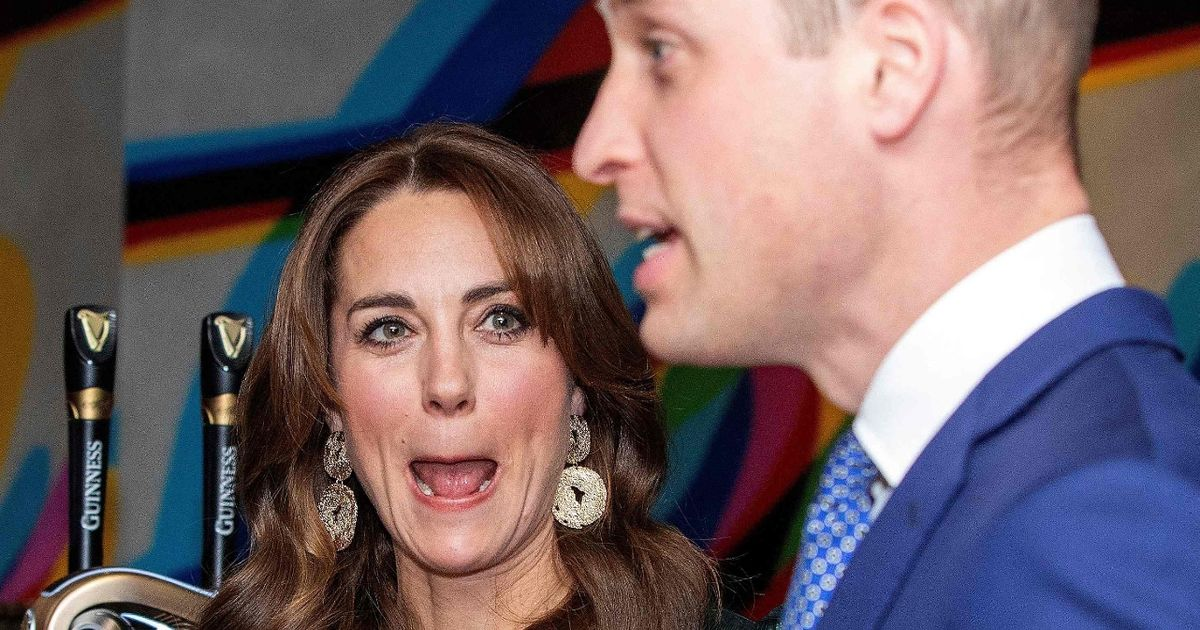 Jack Whitehall's 'inappropriate' Kate comment – and Wills wasn't impressed