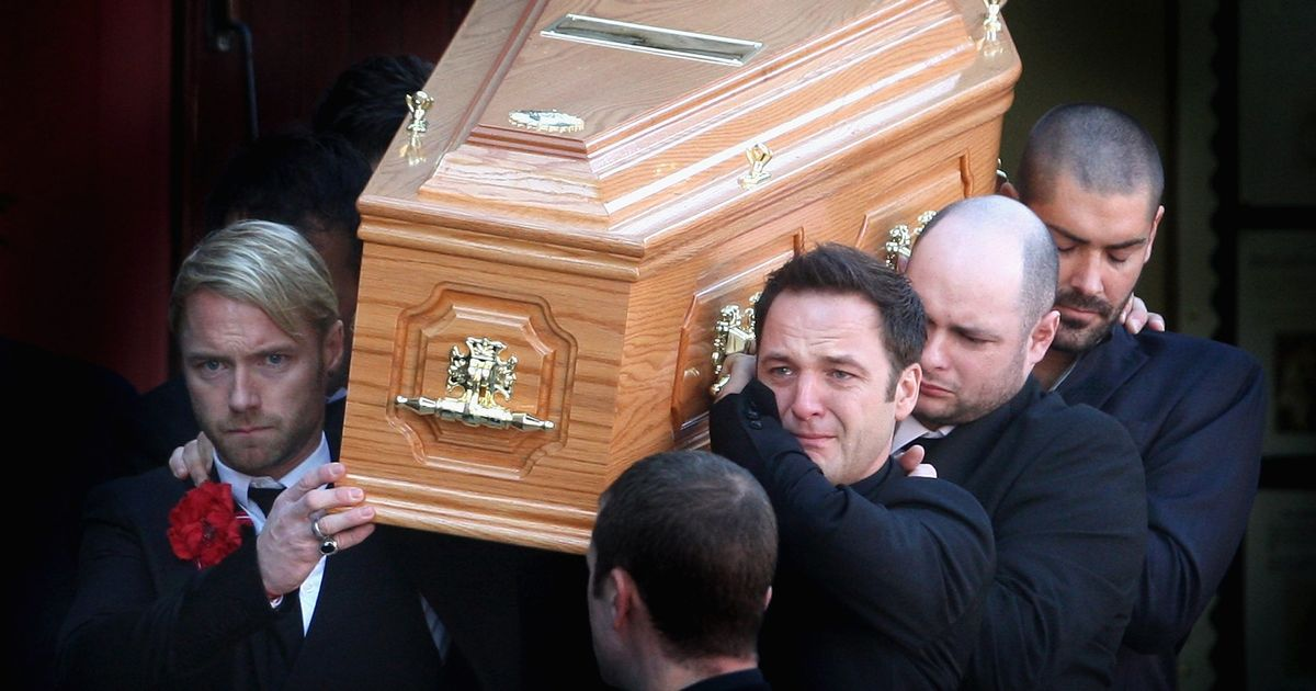 Boyzone slept on church floor with Stephen Gately's coffin to soothe worried mum