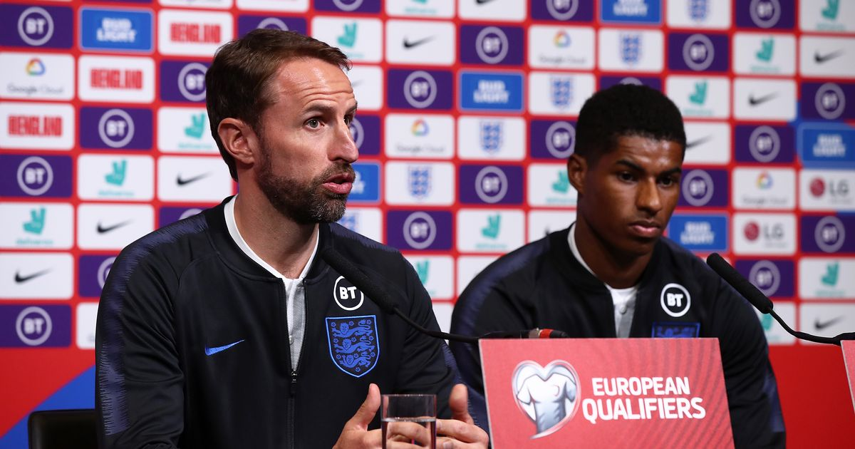 Southgate details what England stars did to Rashford after MBE announcement