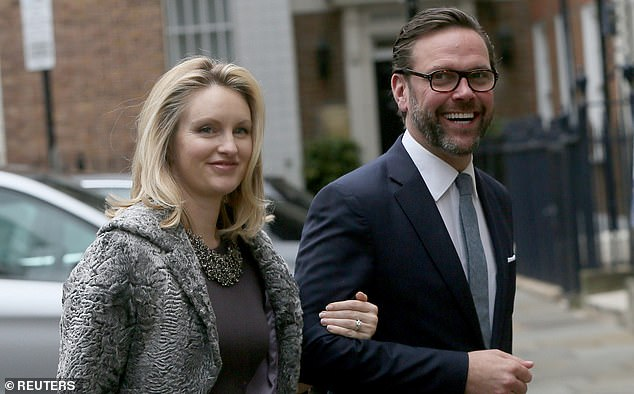 James has spoken out against his father's company on a number of occasions, with him and his wife Kathryn slamming the family business for promoting climate change 'denials' during the Australian bushfire crisis in January