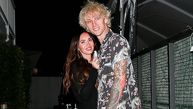 Megan Fox & Machine Gun Kelly Share Sweet Snuggle After Romantic Dinner Date In Santa Monica — See Pics