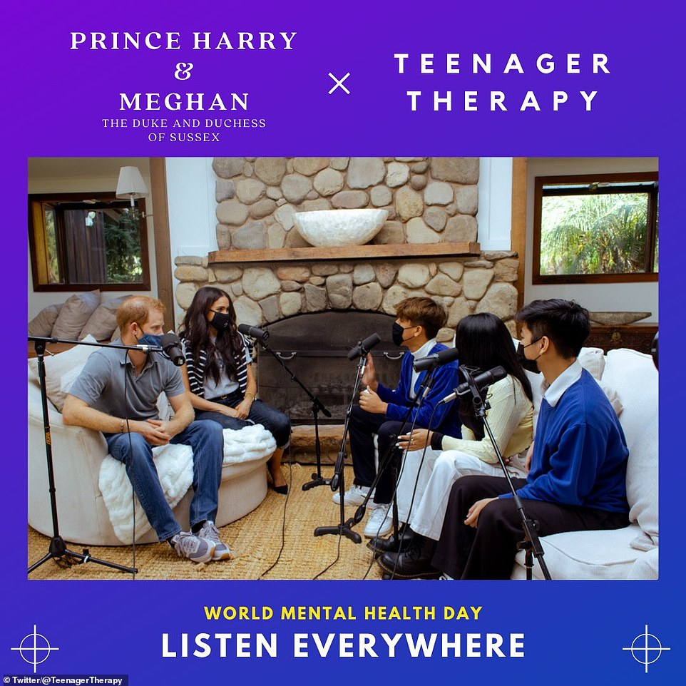 Meghan Markle said that she 'was the most trolled person in the entire world in 2019' and it was 'almost un-survivable' as she and Prince Harry made their podcast debut for World Mental Health Day