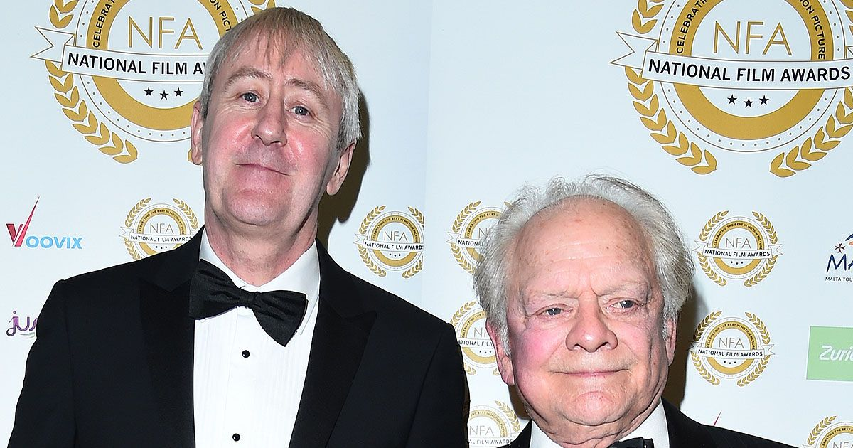 Nicholas Lyndhurst 'gets support from co-star David Jason' after Archie's death