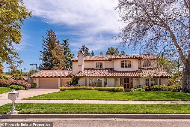 Still in California: The 52-year-old SoCal native sold his $6.55M Brentwood mansion earlier this year in favor of the 3,743-square-foot house 40 miles northwest in Simi Valley