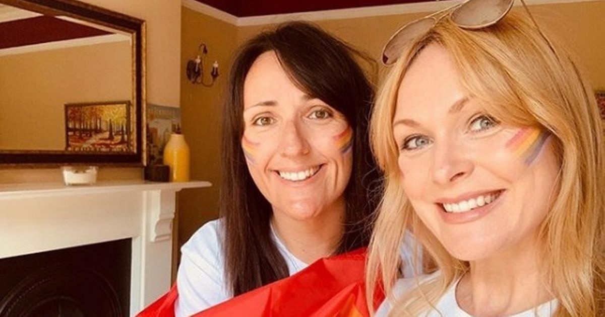 Emmerdale's Michelle Hardwick and Kate Brooks welcome baby boy with cute name