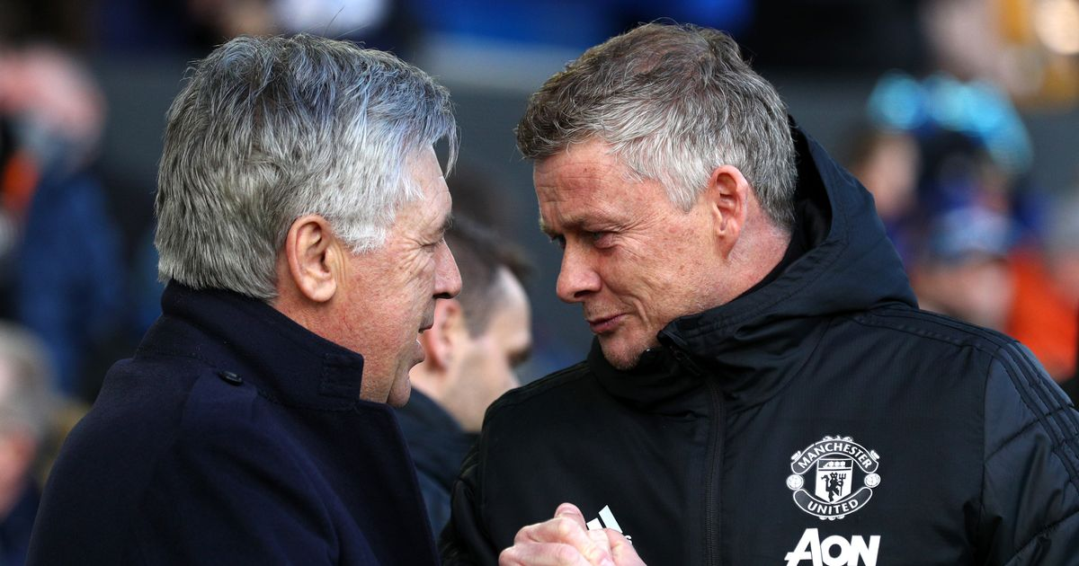 Man Utd and Everton look like polar opposites as battle for top four spot looms