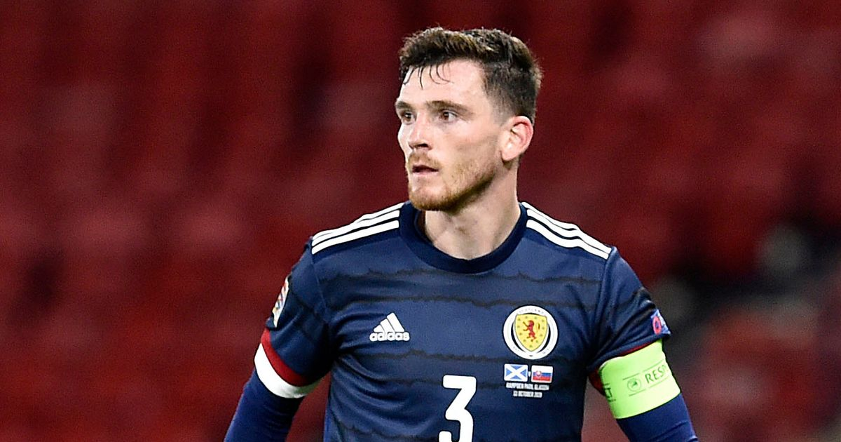 Liverpool receive unique Andrew Robertson boost from Slovakia clash